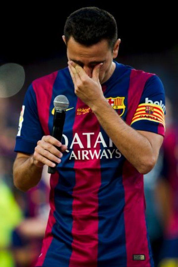 Xavi Hernández Foto:Getty Images
