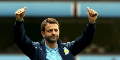 Tim Sherwood, estratega del Aston Villa Foto: Getty Images