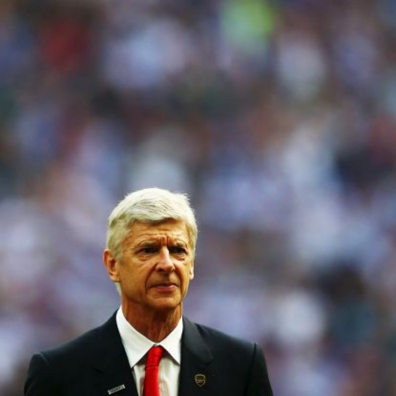 Arsene Wegner, entrenador del Arsenal, antes del duelo. Foto: Getty Images