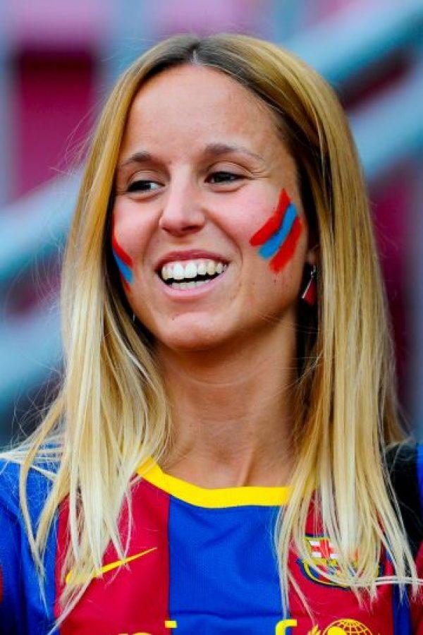 Para el amor al fútbol no hay sexo… Foto:Getty Images