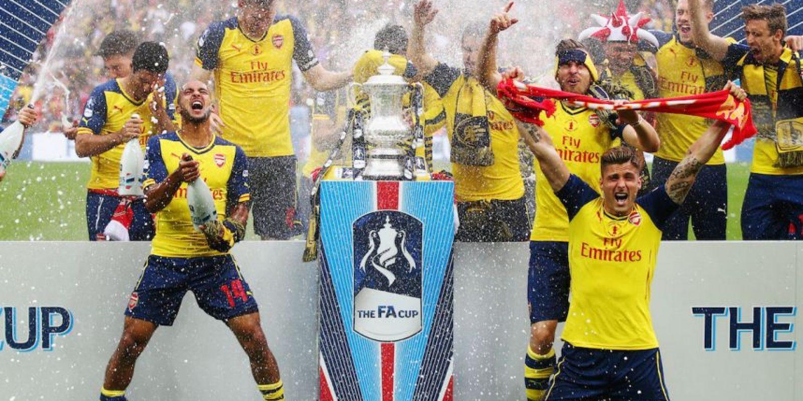 """Los """"Gunners"""" ganaron este trofeo en la pasada campaña. Foto:Getty Images"""
