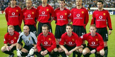 En Manchester fue entrenado por Alex Ferguson y coincidió con figuras como David Beckham, Edwin Van Der Saar, Cristiano Ronaldo, Ryan Giggs, Gary Neville y Ruud Van Nistelrooy, entre otros. Foto:Getty Images