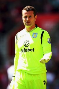 ASTON VILLA. Portero: Shay Given Foto: Getty Images
