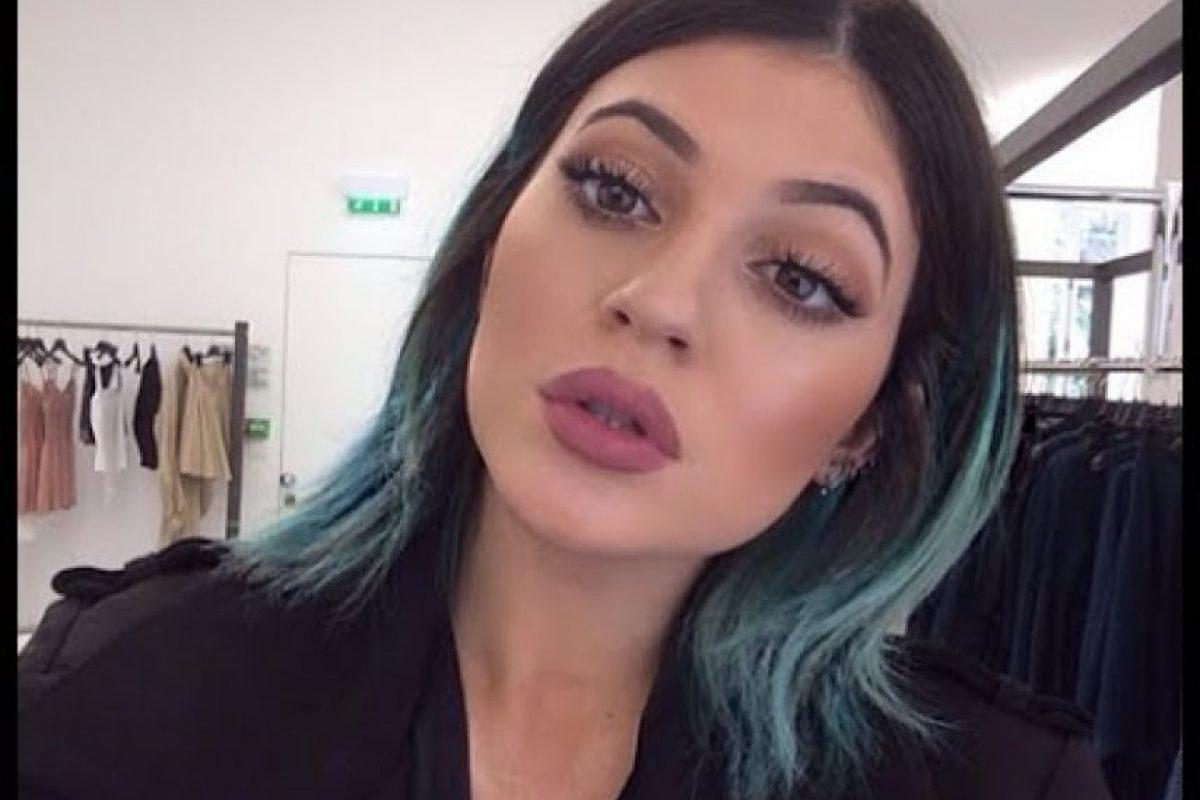 Kylie Jenner siguió con lo mismo. Foto:vía Instagram/Kylie Jenner