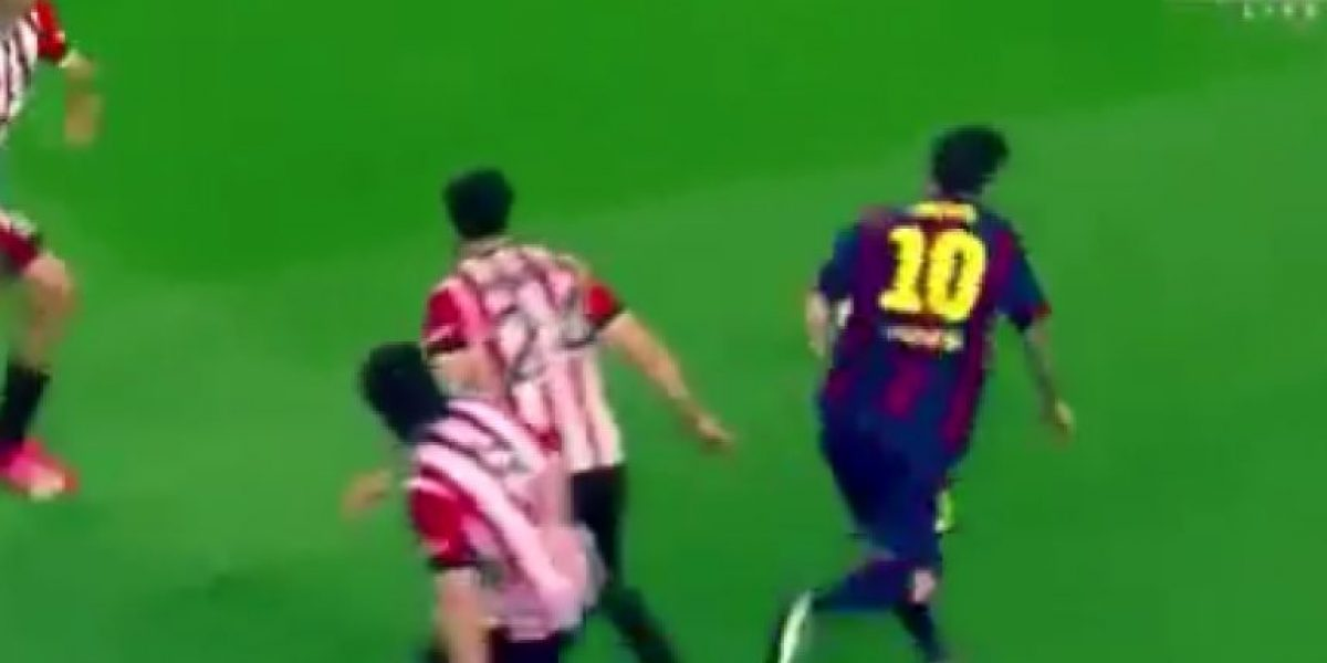 VIDEO: El golazo de Messi en la Copa del Rey