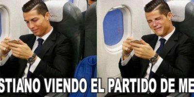 Y a Cristiano Ronaldo. Foto:memedeportes.com
