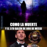 Y también para Lionel Messi por el tremendo gol que marcó. Foto:memedeportes.com