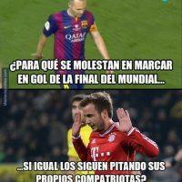Andrés Iniesta fue pitado por la afición del Athletic Club. Foto:memedeportes.com