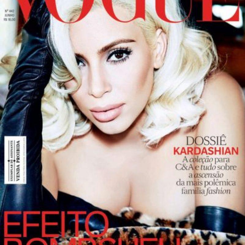 La última fue Marilyn Monroe. Pero…¿tendrá algo en común con la legendaria rubia? Foto:vía Vogue