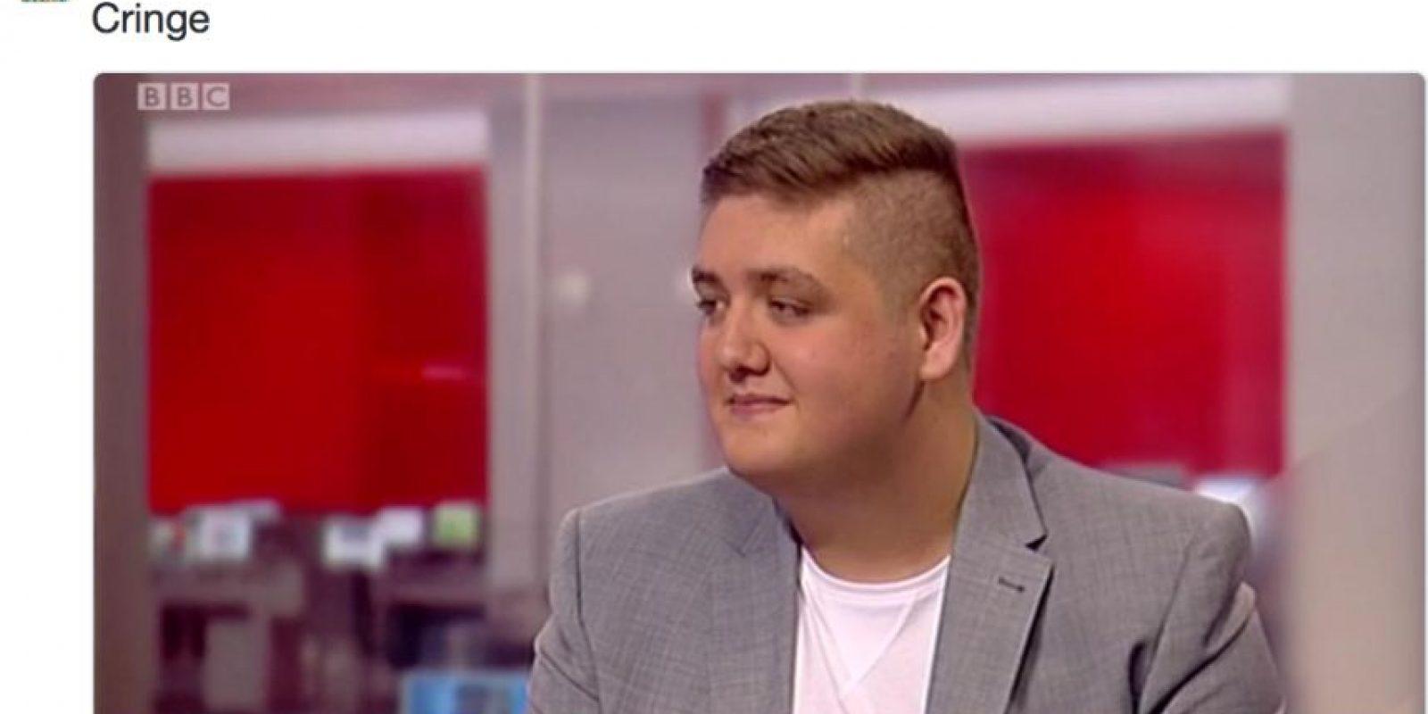 Tom ya estuvo en BBC gracias a esto. Foto:vía Twitter/Thomas Bleasby
