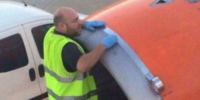 Sucedió en un vuelo de Easy Jet Foto:vía Twitter
