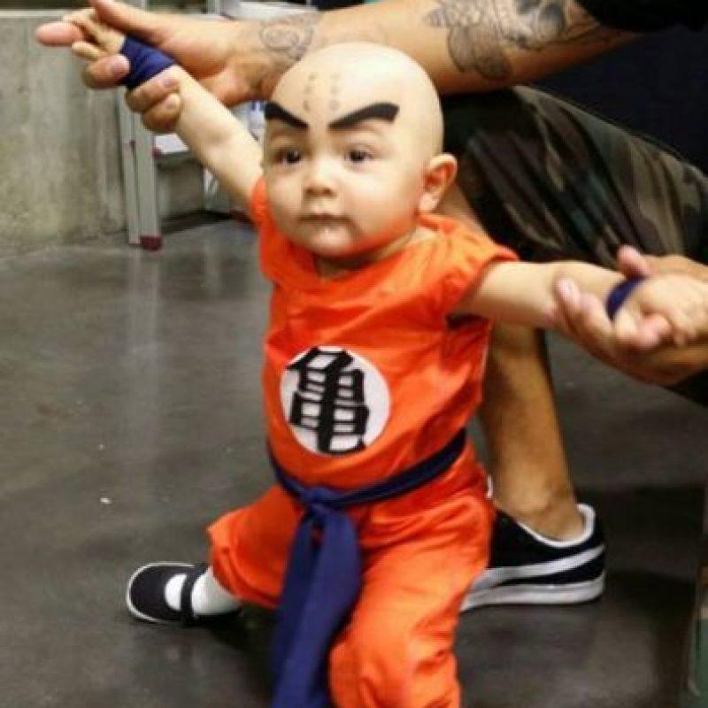 ¿Qué tal este bebé Krillin? Foto:vía Tumblr