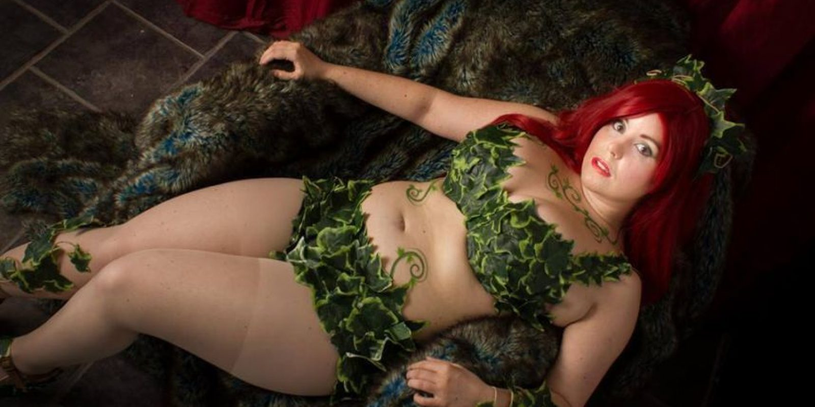 "Esta ""Poison Ivy"". Foto: vía The Curvy Geek"