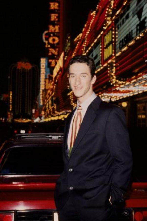 """Desde que """"Salvados por la Campana"""" terminó, Diamond no hizo nada relevante en los años 90. Foto:vía Getty Images"""