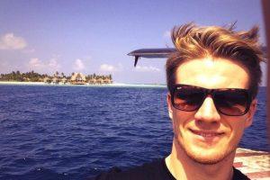 Este alemán de 27 años es piloto de Sahara Force India. Foto:Vía twitter.com/NicoHulkenberg