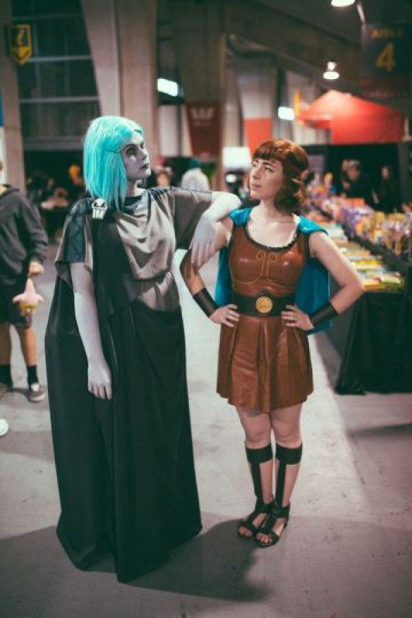 Hércules y Hades pero en mujeres. Foto:vía Tumblr