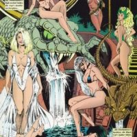 Acá estaban otras superheroínas y villanas del mundo Marvel. Foto:vía Marvel