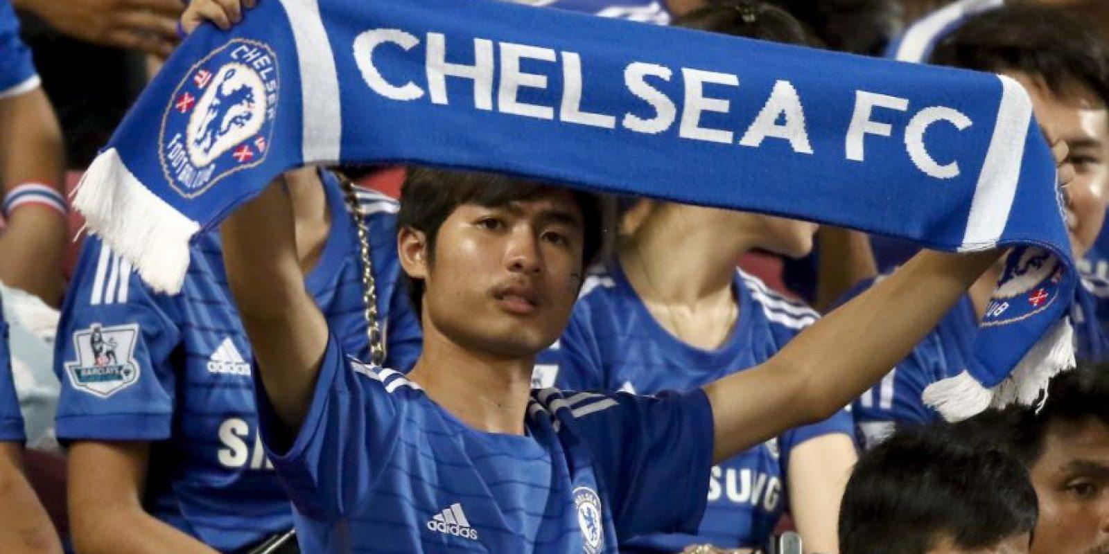 Chelsea, actual campeón de la Premier League, y que también ganó la Copa de la Liga, está de visita en Tailandia. Foto:Getty Images