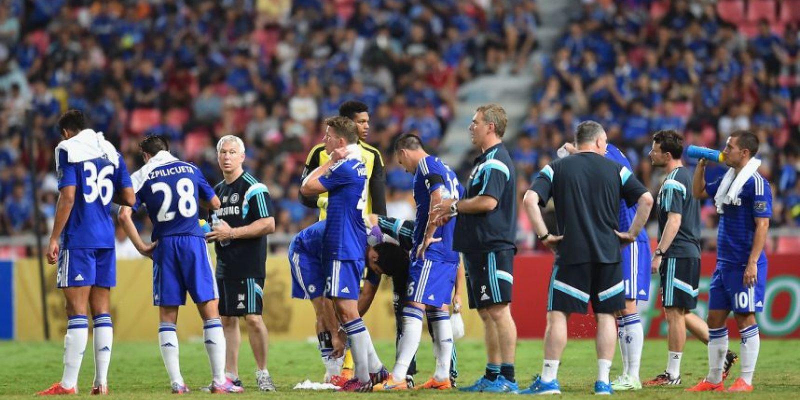 """El 30 de mayo los """"Blues"""" jugaron contra las Estrellas de Tailandia y los vencieron 1-0. Foto:Getty Images"""