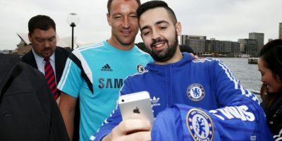 Los futbolistas del Chelsea son una sensación en el país asiático. Foto:Getty Images