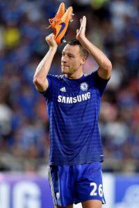 John Terry agradeció tras el partido, todo su apoyo al equipo. Foto:Getty Images