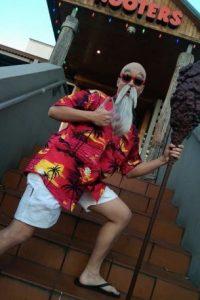 ¿Qué tal este Maestro Roshi? Foto:vía The Curvy Geek
