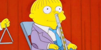 """Rafita Gorgory, en """"Los Simpsons"""", no es el niño más brillante del mundo. Pero ha tenido sus apuntes de lucidez, según los recogió el portal Uproxx. Foto:vía FOX"""