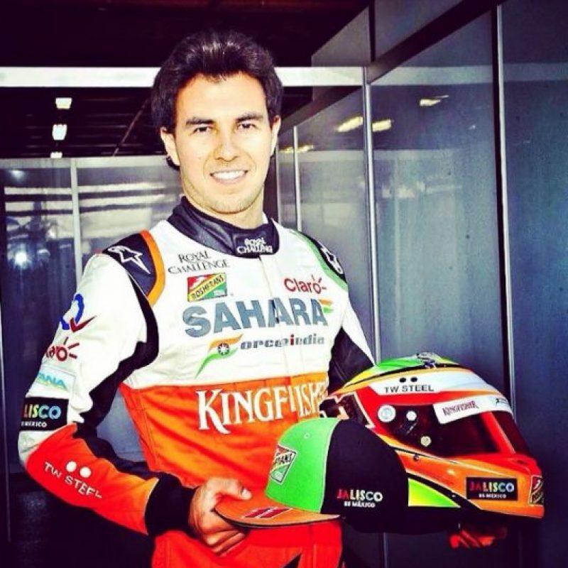 """En cuatro años de carrera en F1, """"Checo"""" ha alcanzado 4 podios, tres con Sauder y 1 con Force India. Foto:Vía instagram.com/schecoperez/"""