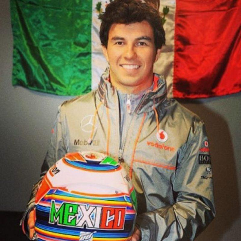 Se inició en el karting a los 6 años. Foto:Vía instagram.com/schecoperez/