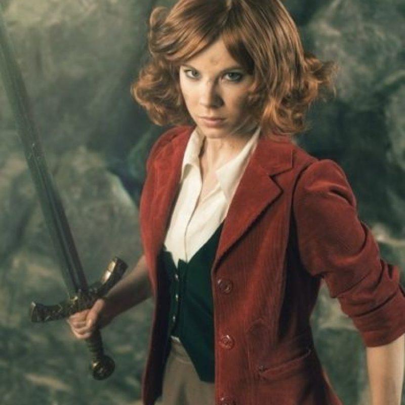 Bilbo Bolsón, pero en mujer. Foto:vía Alexander Turchann