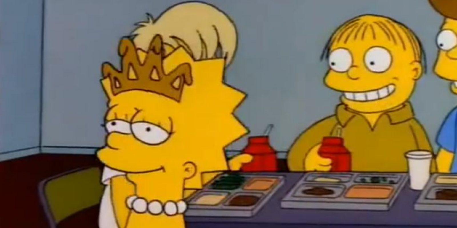 """5. En """"Lisa, la Reina de Belleza"""", en la versión en inglés, los chicos comparan a Lisa con una goma de mascar. Foto:vía FOX"""