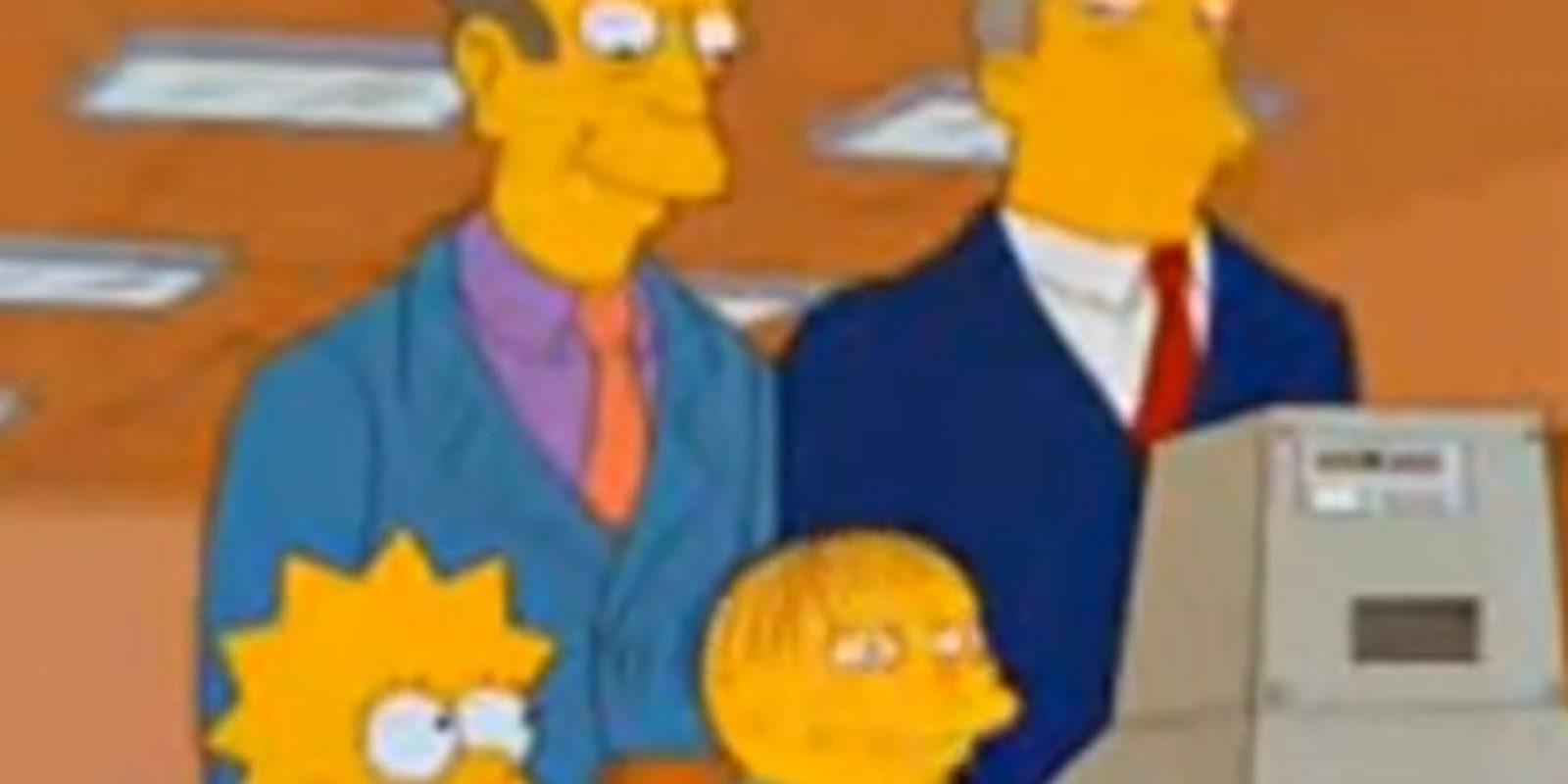 """Lo mismo cuando le dice al Superintendente Chalmers """"SuperNintendo Chalmers"""", como si fuese a propósito. Foto:vía FOX"""