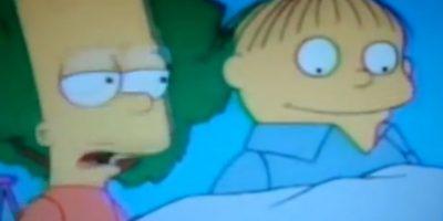 """6. En otro episodio, Rafa tiene """"leprechauns"""" diciéndole que queme cosas. Un lado muy oscuro del personaje. Foto:vía FOX"""