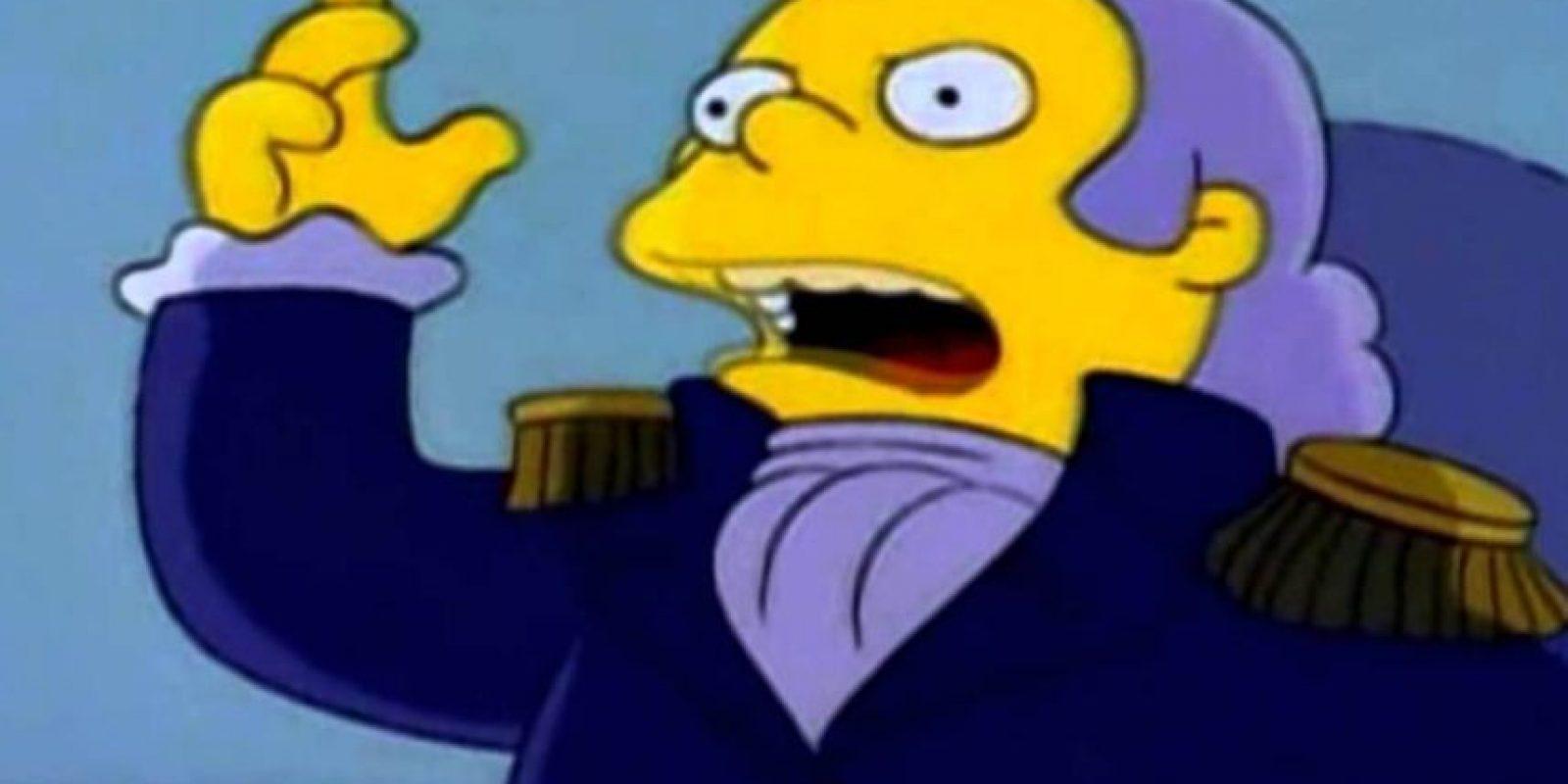 """2. Rafa es muy bueno con la actuación, como se pudo ver en el capítulo """"Yo Amo a Lisa"""", de 1993. Foto:vía FOX"""
