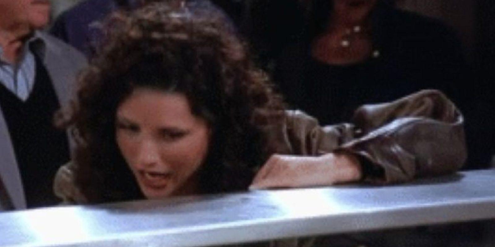 """Elaine: Este año Arabia Saudita lanzó los nombres que están prohibidos. Este era uno. Ya no podrán llamar a su hijo(a) como el personaje de """"Seinfeld"""". Foto:vía Tumblr"""