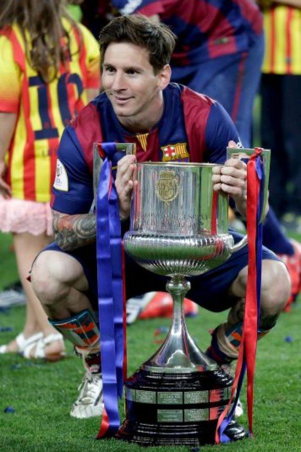 Leo Messi también. Foto:AP