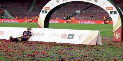 Pero al final, Mascherano prefirió quedarse a descansar. Foto:AP