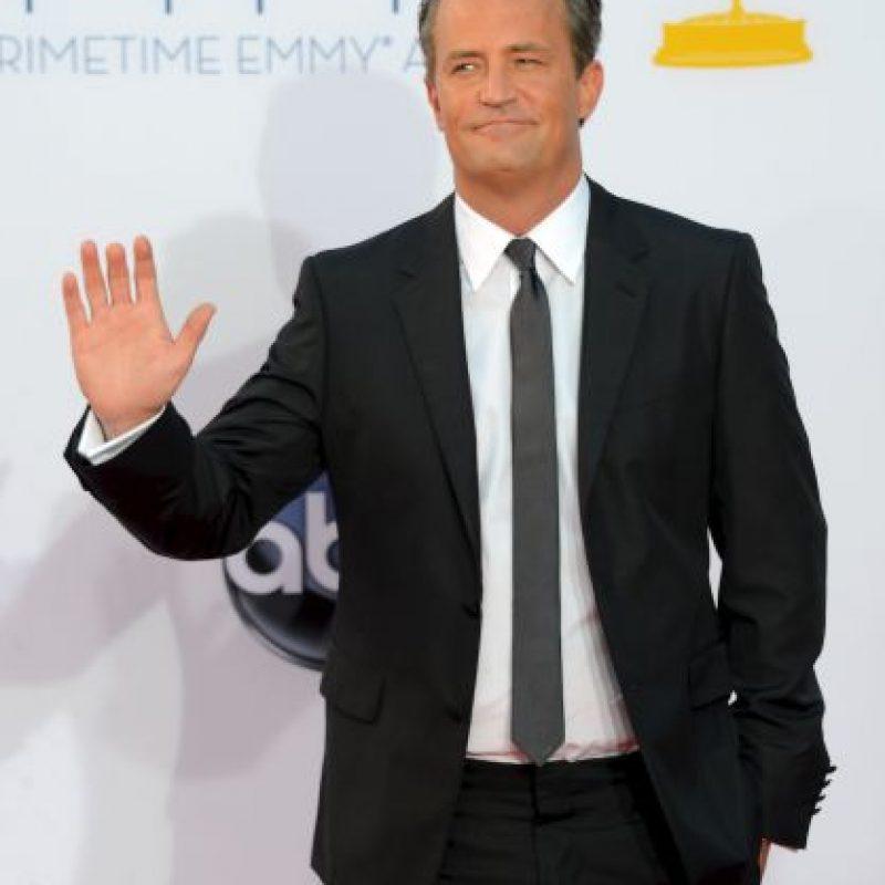 """Al actor de """"Friends"""" le falta una parte del dedo medio Foto:Getty Images"""
