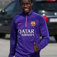 Esta es la misma historia del senegalés Diawandou Diagné del Barcelona. Foto:Getty Images