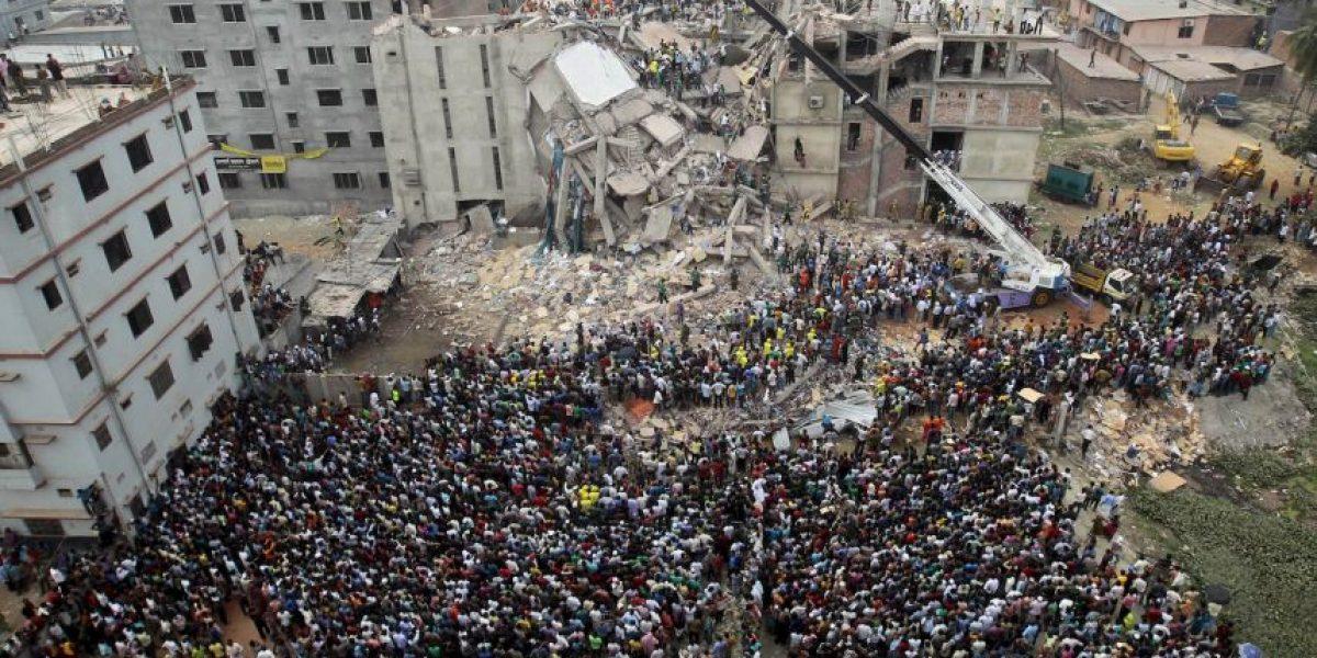 Acusan a 41 personas por el colapso de una fábrica en Asia