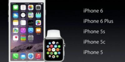 Tiene compatibilidad a partir del iPhone 5. Foto:Apple