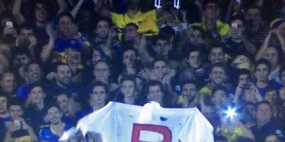 El encuentro sería suspendido más tarde por agresión de aficionados a futbolistas de River con gas pimienta. Boca fue descalificado del certamen continental. Foto:Vía twitter.com