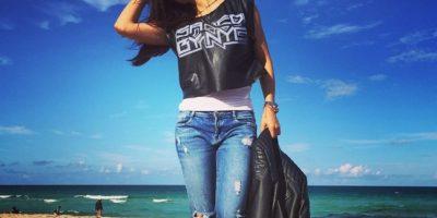 A su llegada a Miami cambió de look y ahora luce más joven. Foto:Instagram Jessica Cediel Instagram Jessica Cediel