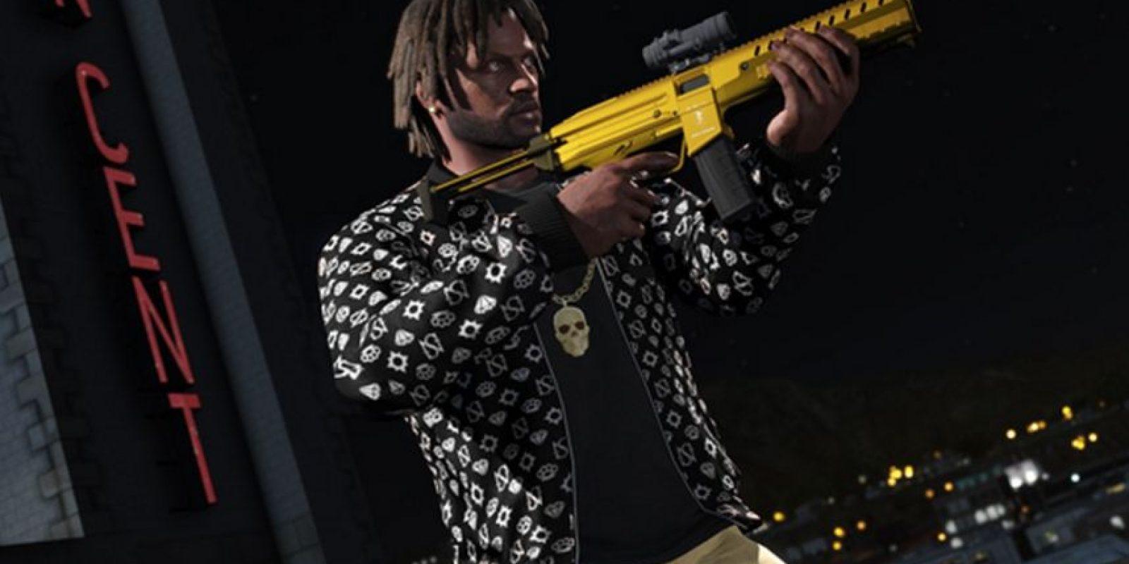 Una arma PDW Combate. Foto:Rockstar Games