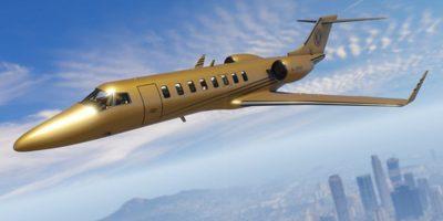 Un jet Buckingham Luxor Deluxe para surcar los cielos de Los Santos. Foto:Rockstar Games