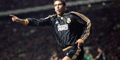 Raúl González le anotó al Valencia en la final del 2000. Foto:Getty Images