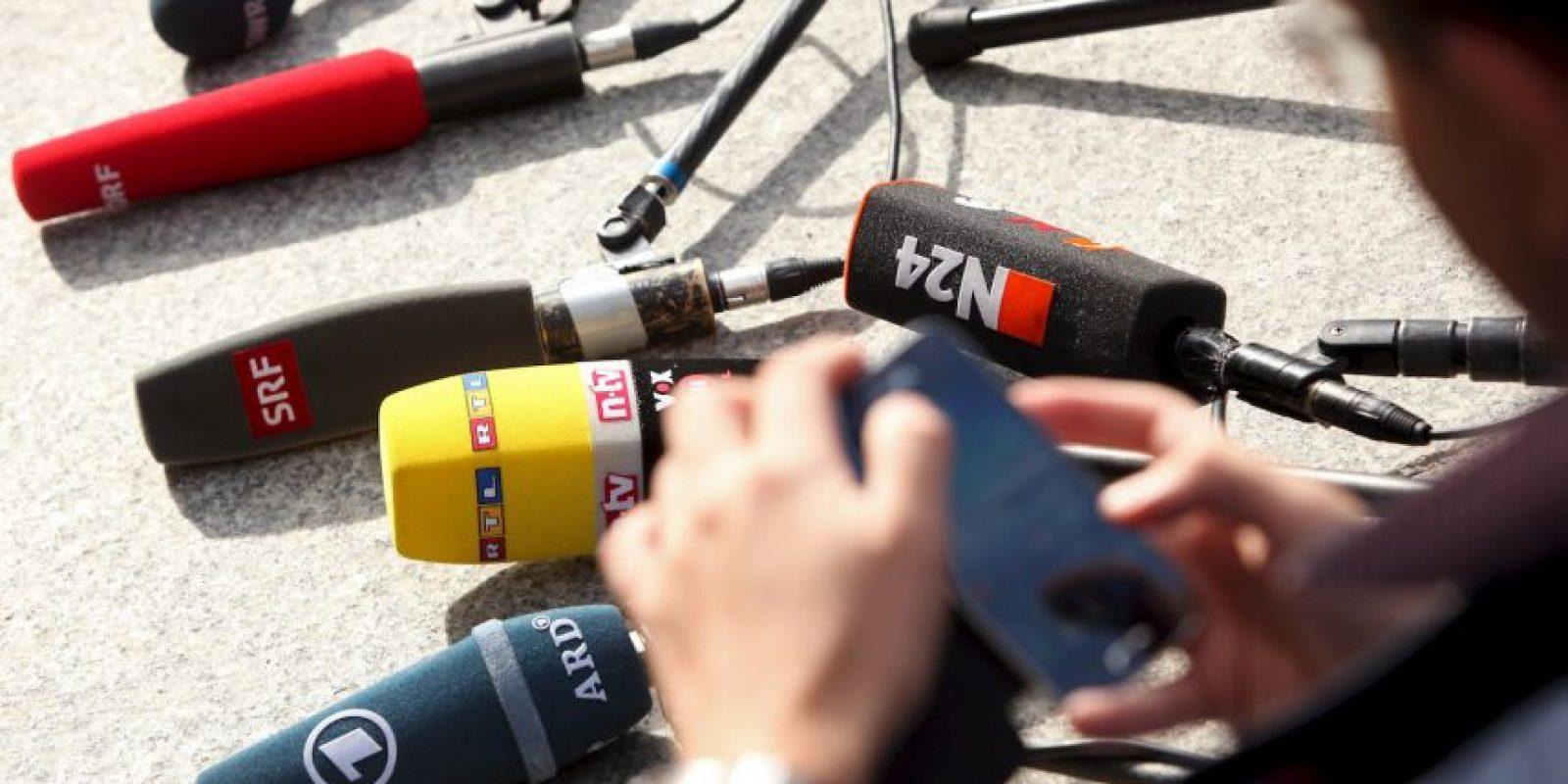 Un reportero intentó entrevistar a un cadáver. Foto:Getty Images