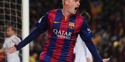 Del Barça, el único francés es Jeremy Matthieu. Foto:Getty Images