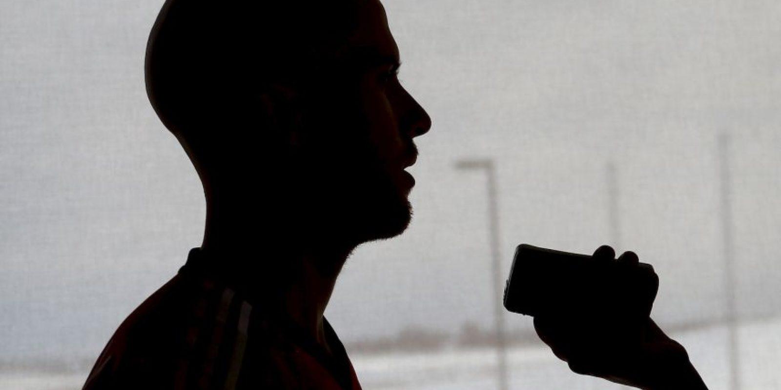 Cuando se dio cuenta de la situación el reportero se sintió avergonzado. Foto:Getty Images