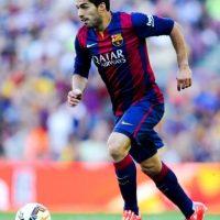Luis Suárez en el conjunto catalán. Foto:Getty Images